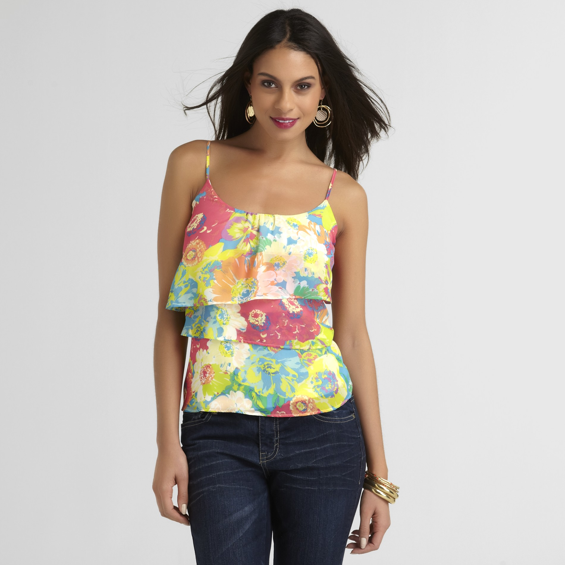 Cute Floral Top For Date Night